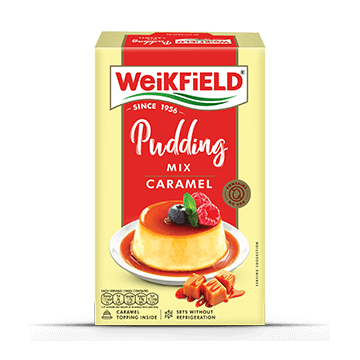 Weikfield Caramel Pudding Mix Pack