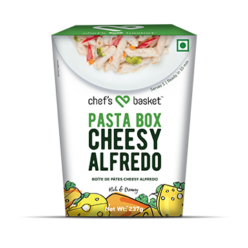 Chef's Basket Pasta Box - Cheesy Alfrado