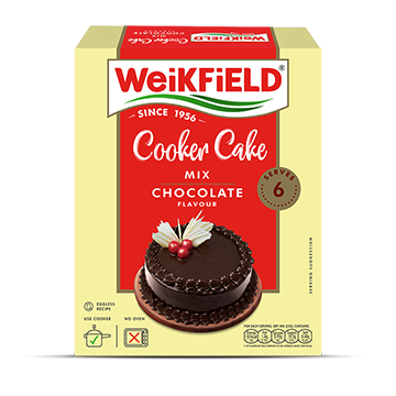Weikfield Chocolate Flavour Cooker Cake Mix Pack