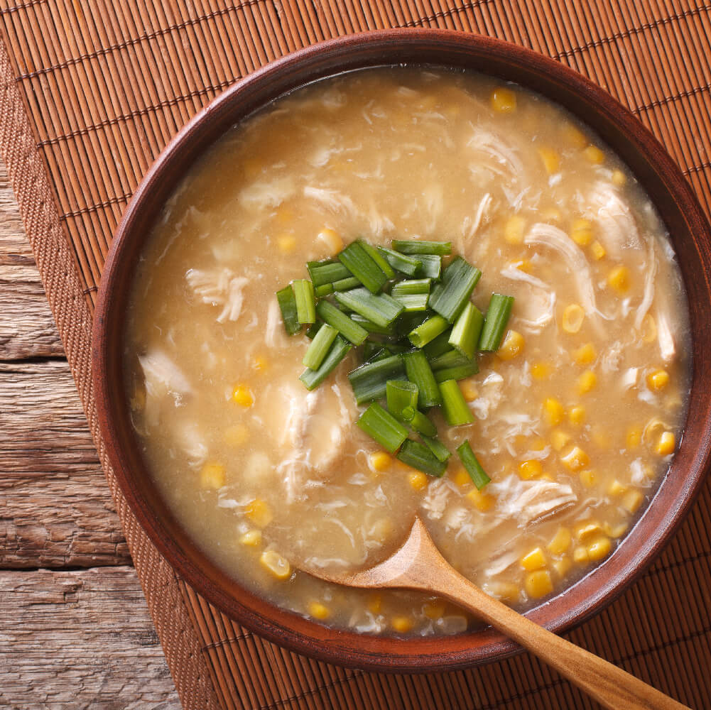 Soup made with Weikfield Corn Flour