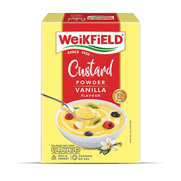 Weikfield Custard Powder Vanilla Flavour pack