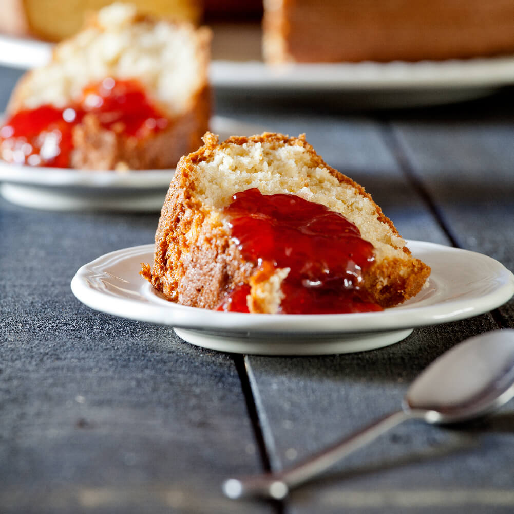 ST DALFOUR Fruit Preserves on Cake