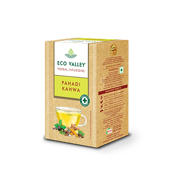 Eco Valley Herbal Infusion Tea - Pahadi Kahwa Pack