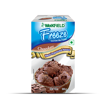 Weikfield Freeze Strawberry Flavour Ice cream Mix Powder Pack