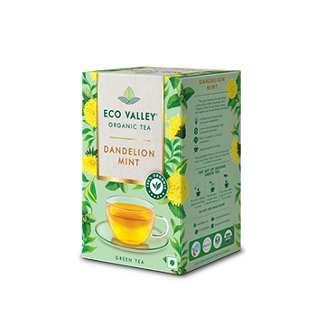 Eco Valley Dandelion Mint Flavour Organic Tea pack