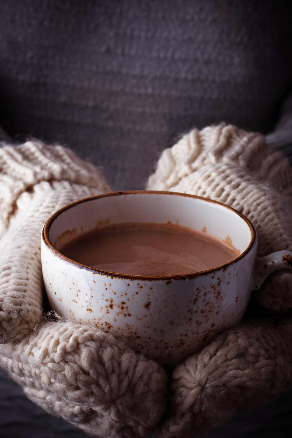 WHIP UP A SINFULLY DELICIOUS PIPING HOT CHOCOLATE OR SOOTHING COLD MILKSHAKE AT HOME
