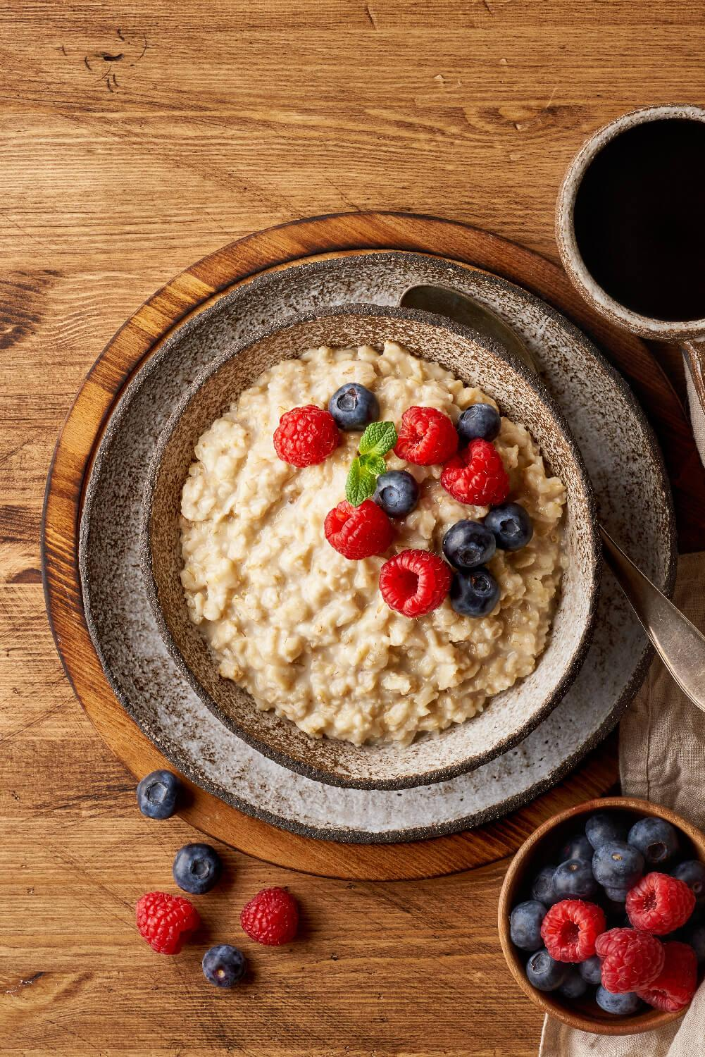 Kickstart your day by taking care of your health with Eco Valley Hearty Oats